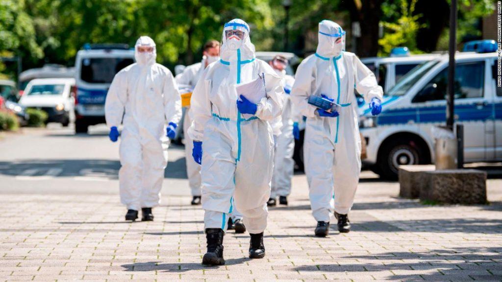 Tingkat reproduksi coronavirus Jerman melonjak setelah wabah besar-besaran di pabrik daging