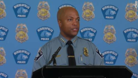 Kepala kepolisian Minneapolis mengatakan keluarga George Floyd akan mengilhami upaya reformasinya