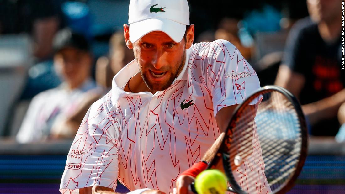 Novak Djokovic dinyatakan positif terkena virus corona setelah Adria Tour