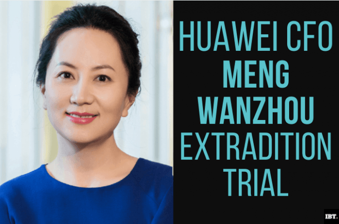 Casing ekstradisi Huawei CFO