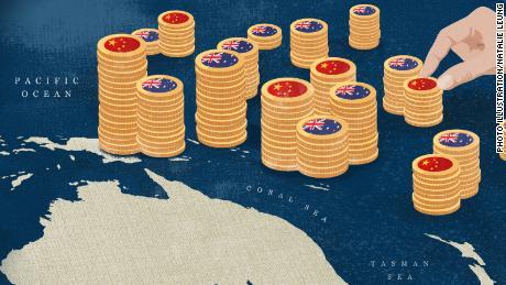 Mengapa Cina menantang Australia untuk pengaruh atas Kepulauan Pasifik