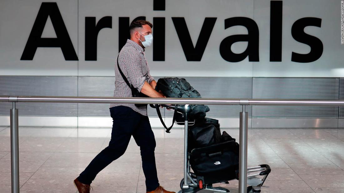 Bantuan perjalanan untuk warga Inggris saat pemerintah meninjau karantina dua minggu