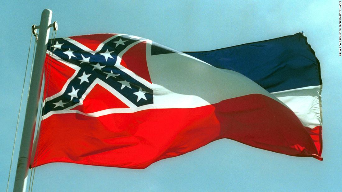 Legislatif negara bagian Mississippi meloloskan RUU untuk menghapus simbol konfederasi dari bendera negara bagian dalam pemungutan suara bersejarah