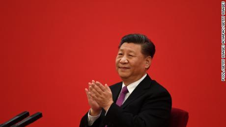 Presiden Cina Xi Jinping terlihat selama pertemuan pada bulan Desember 2019. Xi telah mengembangkan kebijakan yang semakin nasionalis sebagai pemimpin China.