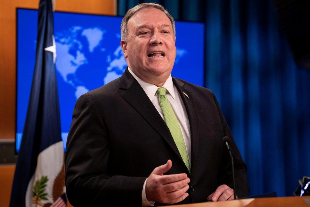 AS akan berhenti mengekspor peralatan pertahanan ke Hong Kong karena hukum Tiongkok