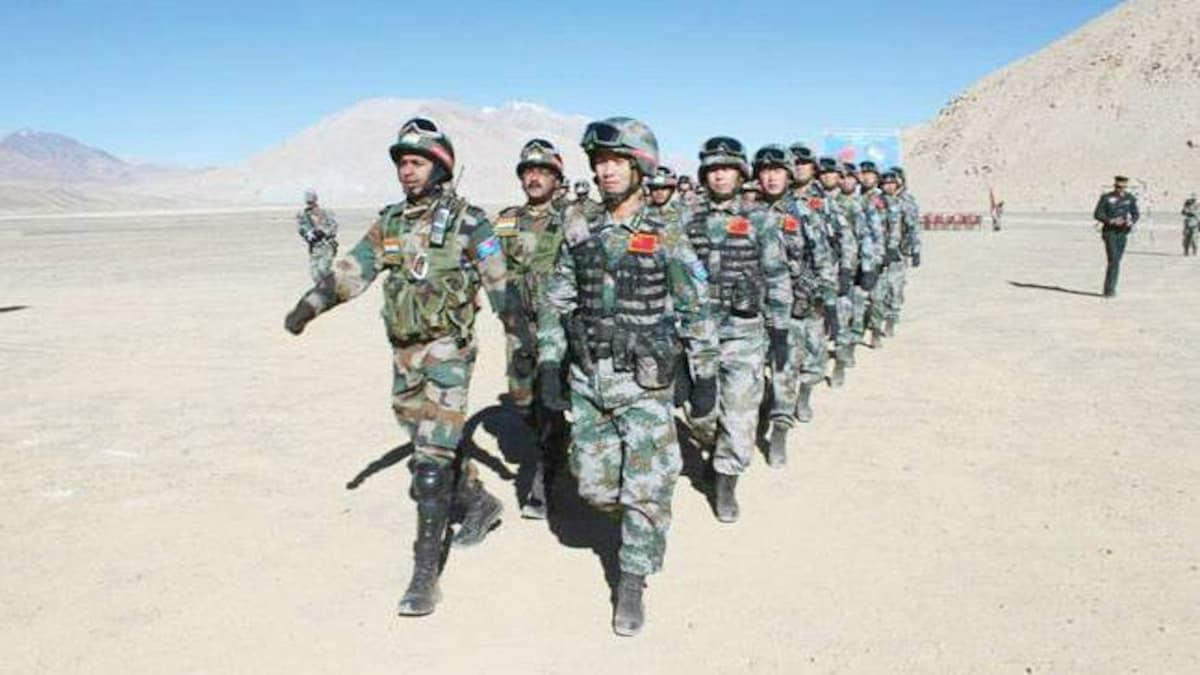india-china armies in LAC