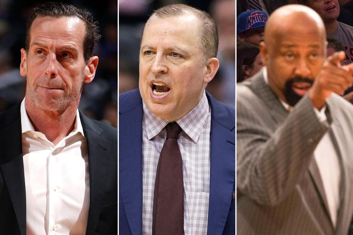 Menjatuhkan semua 11 kandidat untuk pekerjaan kepelatihan Knicks