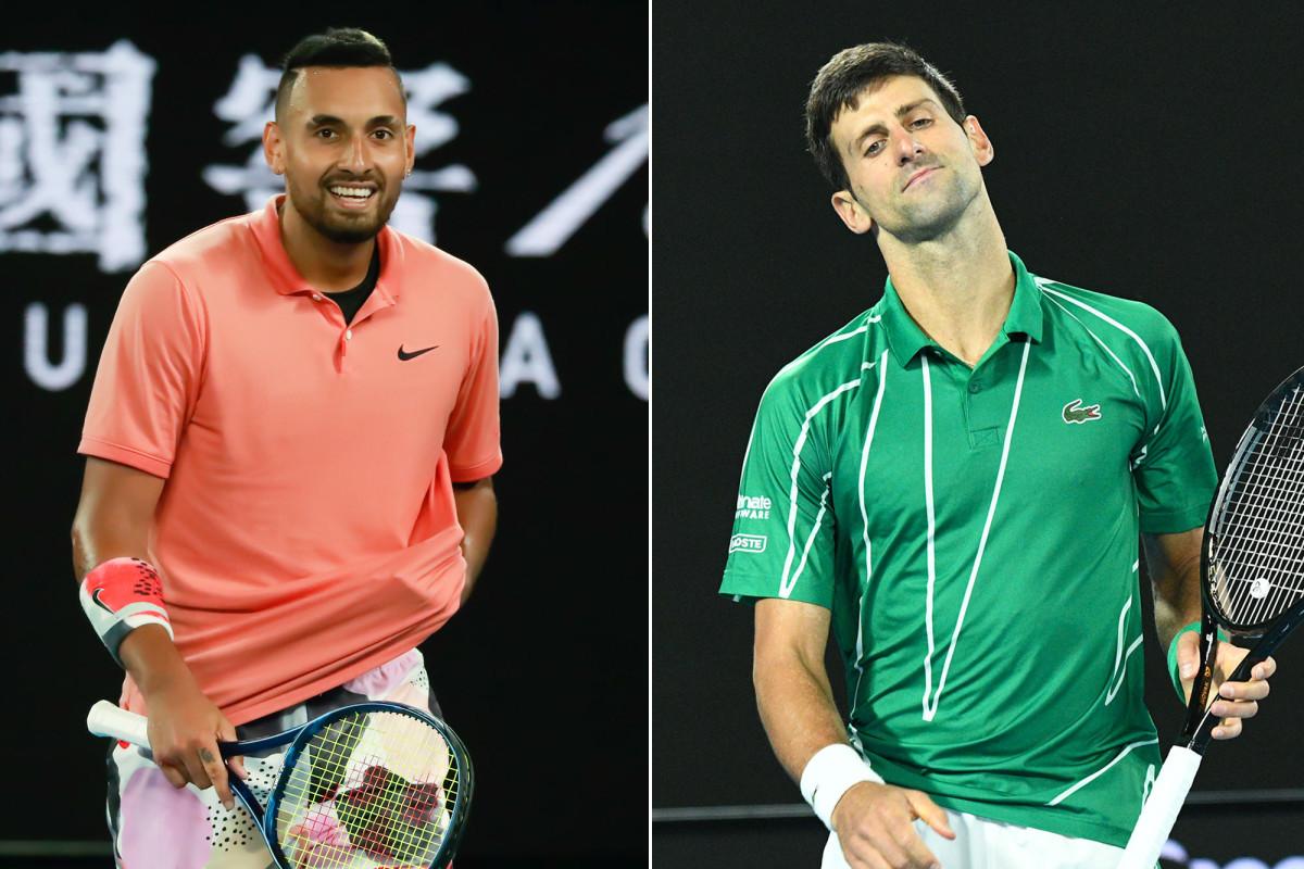 Nick Kyrgios merobek Novak Djokovic atas diagnosis coronavirus
