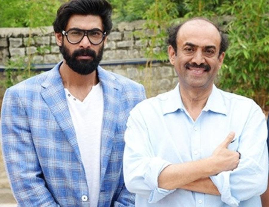 Rana Daggubati with father Suresh Babu