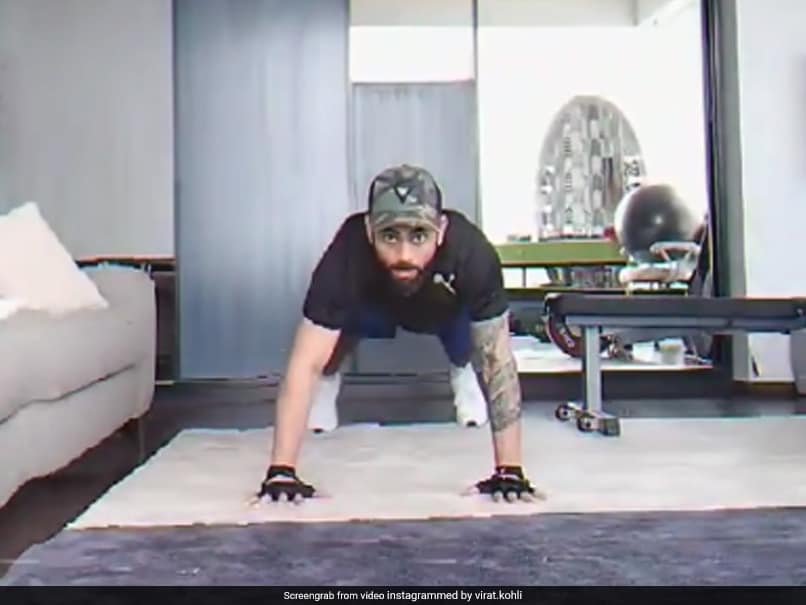 Virat Kohli Adds A Twist To Hardik Pandyas Fly Push-Ups. Watch