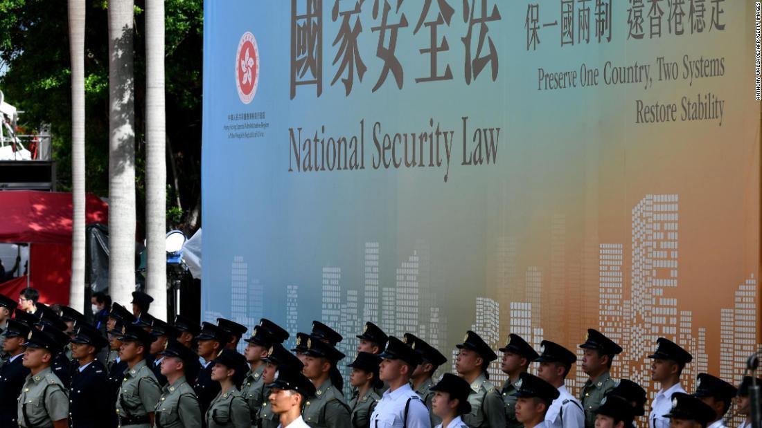 Senat menyetujui RUU sanksi akhir untuk menghukum China atas Hong Kong