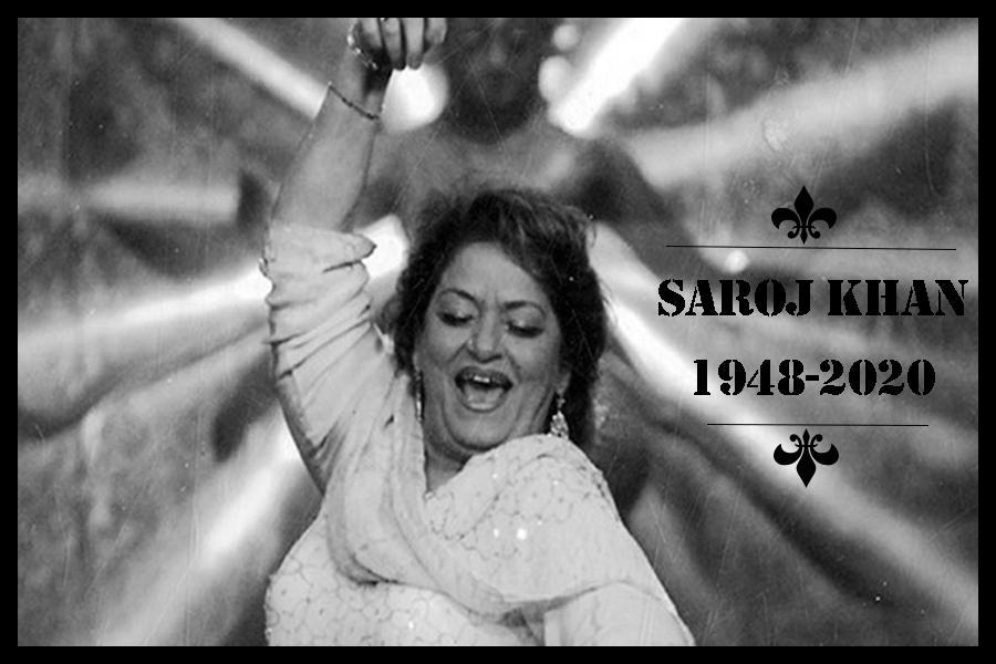 saroj khan died
