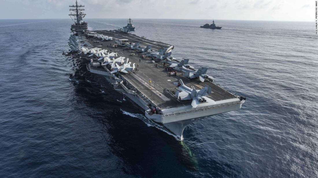 Angkatan Laut AS akan mengirim dua kapal induk dan beberapa kapal perang ke Laut Cina Selatan