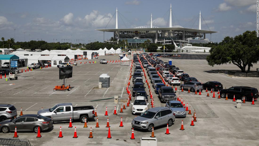 Penelusuran kontak Florida: Seiring lonjakan 19 kasus Covid, otoritas kesehatan Florida sering gagal melakukan pelacakan kontak