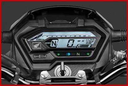 Meter digital Honda XBlade BS6