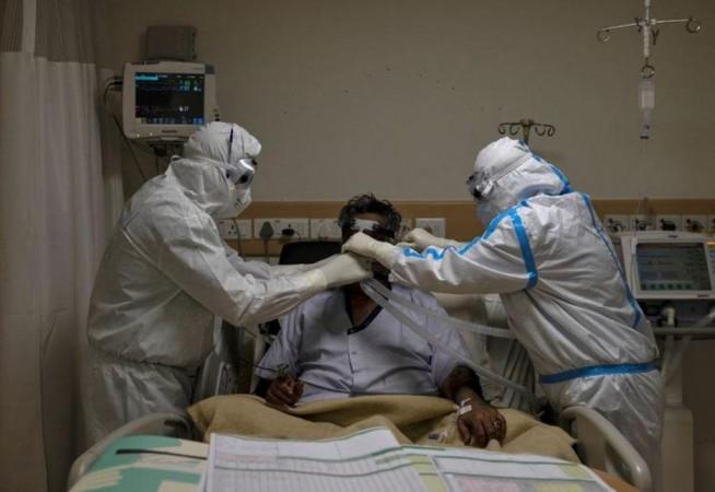 Pasien Coronavirus di rumah sakit