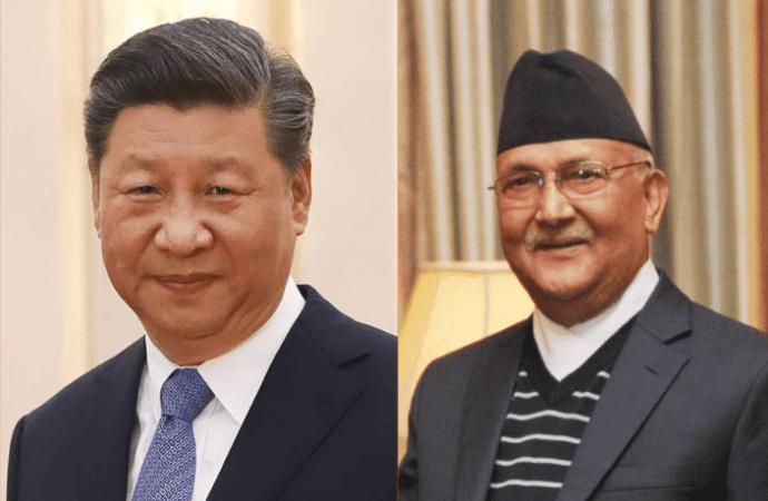 Para pemimpin Nepal dan Cina
