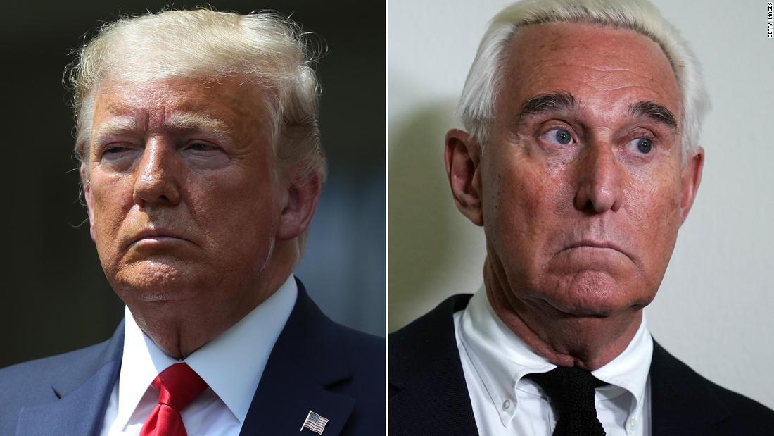 Trump mengubah kalimat Roger Stone: Pembaruan langsung
