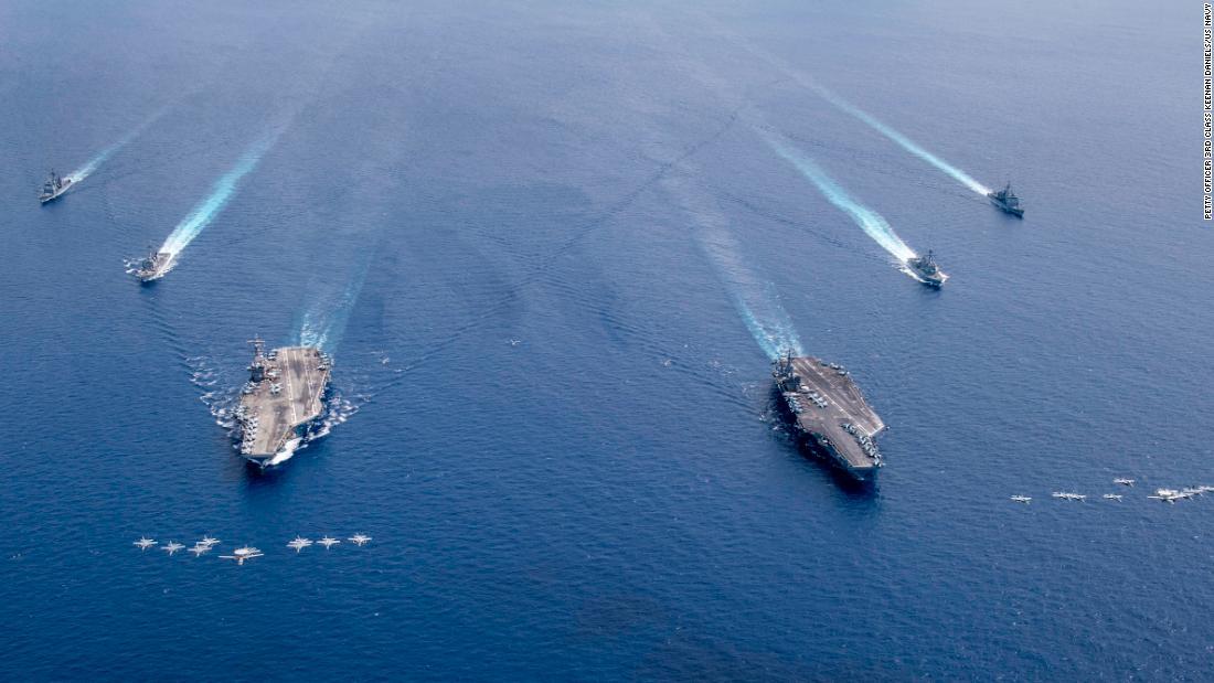 AS menyatakan 'sebagian besar' klaim maritim Tiongkok di Laut Cina Selatan ilegal