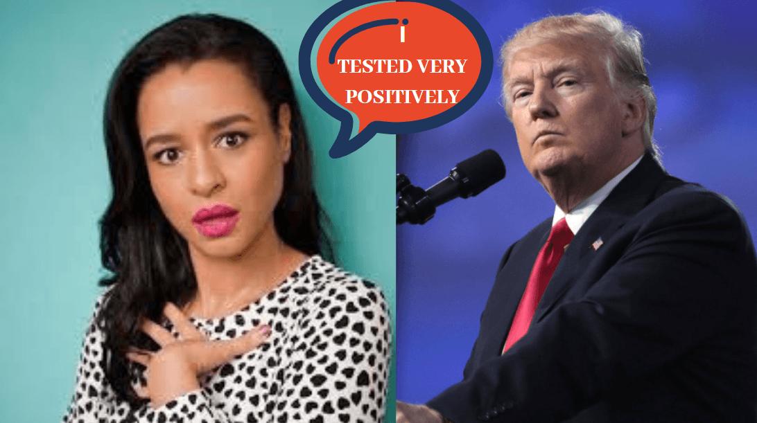 Sarah Cooper pulls a flawless Trump; here