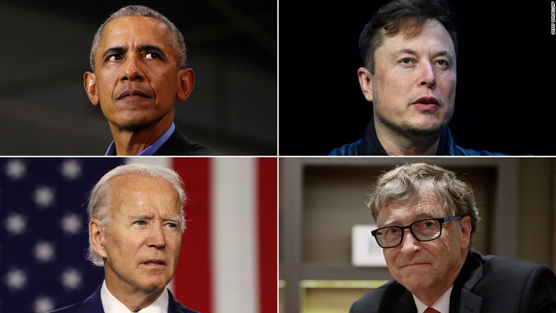 Akun Twitter Joe Biden, Elon Musk, Bill Gates, Apple dan lainnya tampaknya diretas