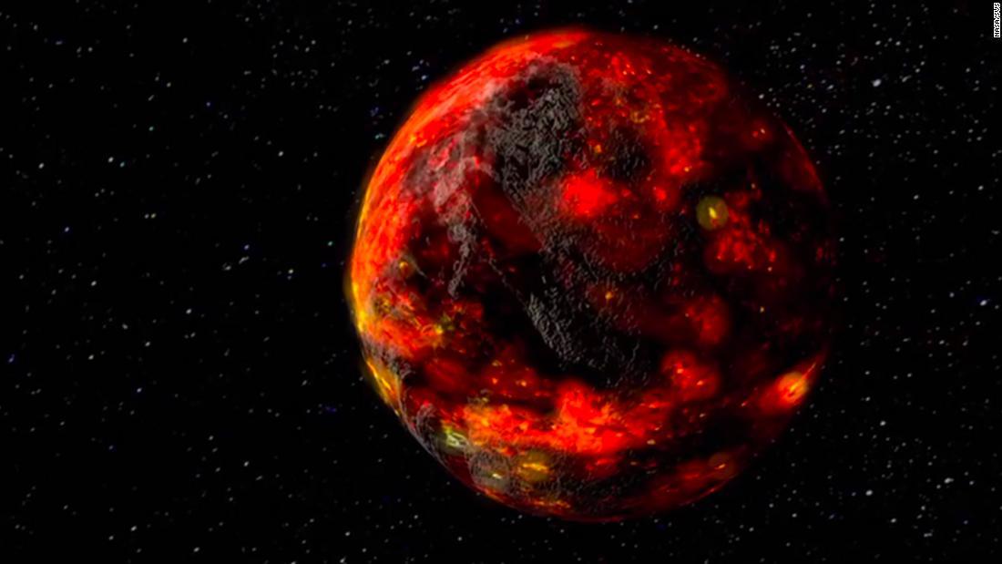 Bulan sekitar 85 juta tahun lebih muda dari perkiraan kami, demikian temuan sebuah studi baru