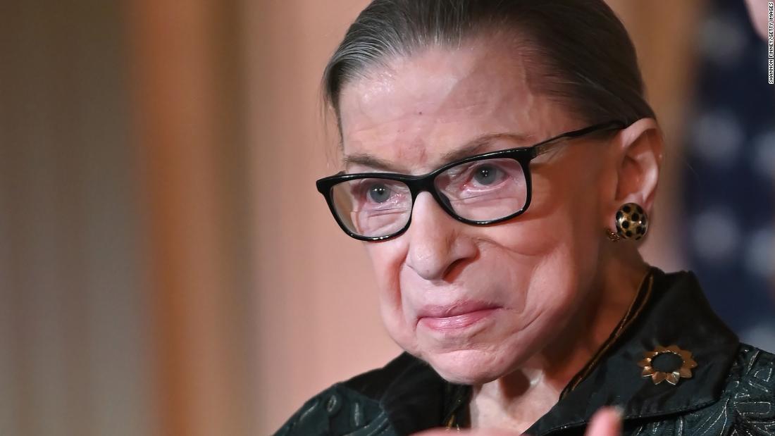 Ruth Bader Ginsburg mengumumkan kekambuhan kanker