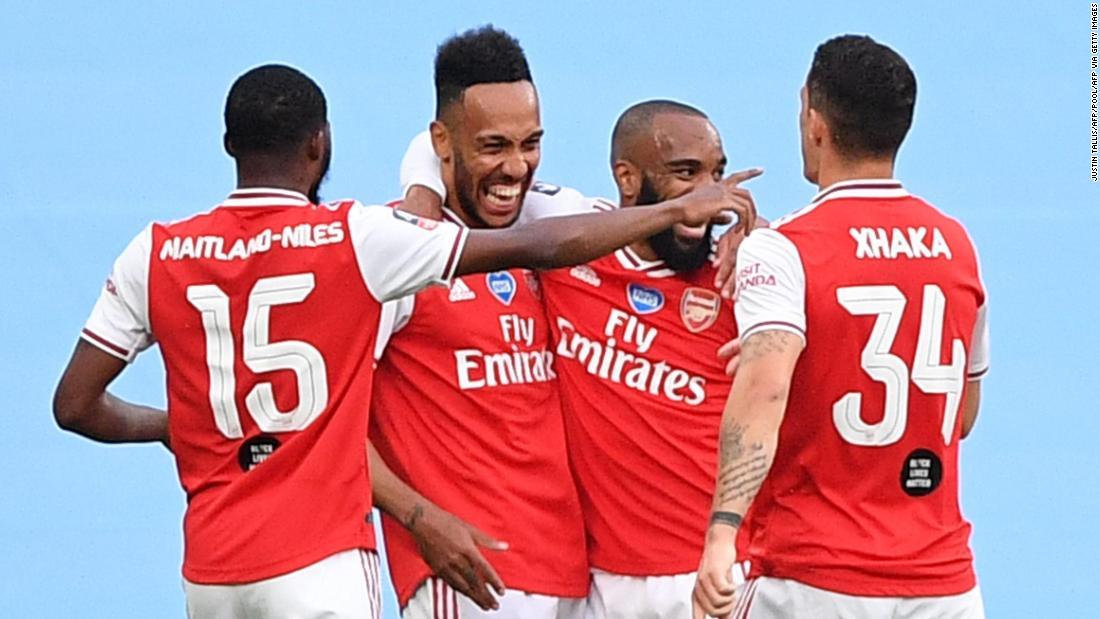 Aubameyang merangkap sebagai pemegang stang Arsenal Manchester City di semifinal Piala FA
