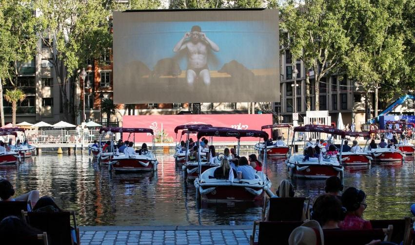 Movie magic as Paris turns the Seine into open-air cinema