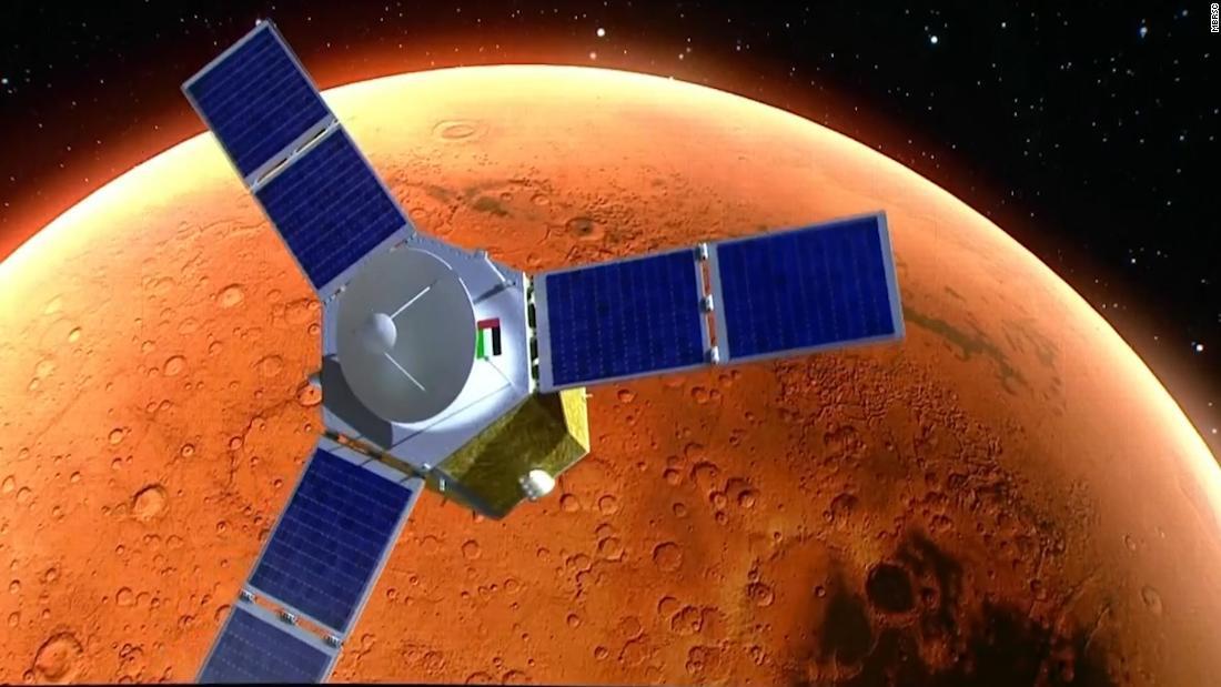 UEA telah berhasil meluncurkan misi Mars pertama di dunia Arab