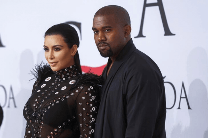 Kim Kardashian West dan Kanye West