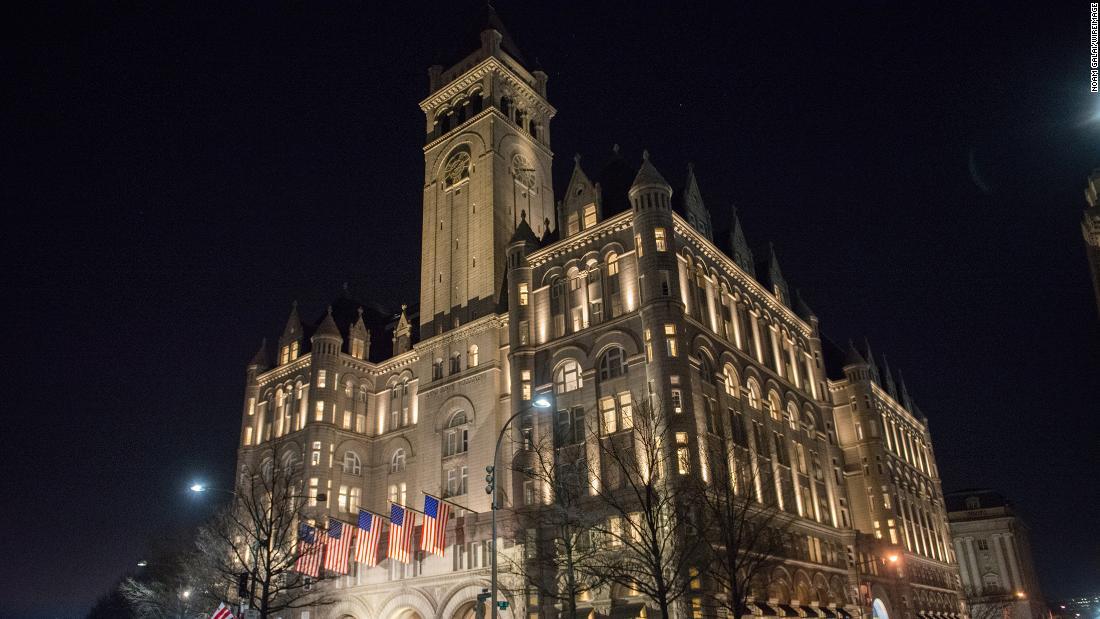 Penyelidik DC tidak menemukan pelanggaran terkait Covid di Trump International Hotel