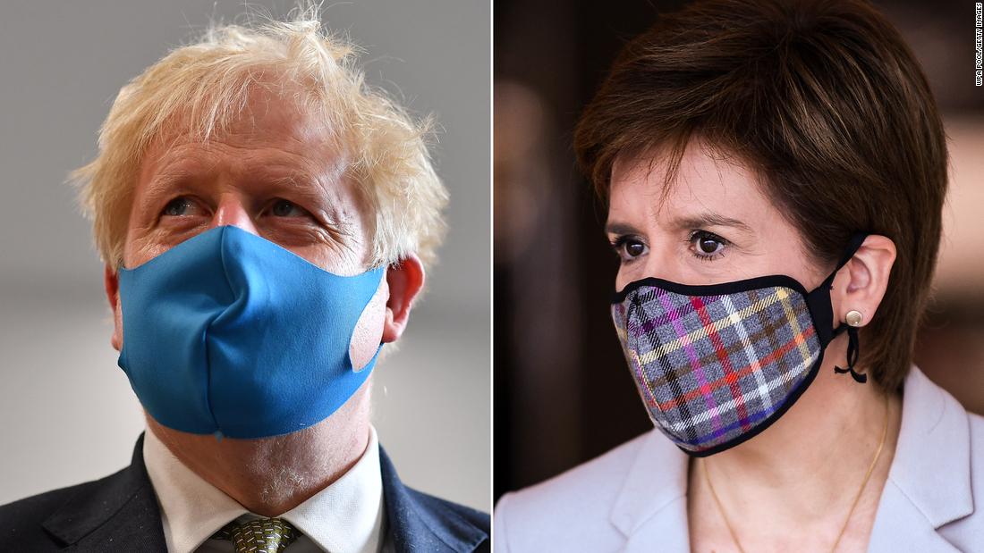 Inggris, Skotlandia coronavirus: Bangsa berpisah pada Covid-19. Ini dapat menyebabkan perceraian penuh.