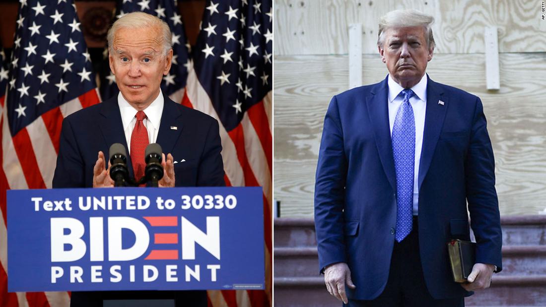 Pemilu 2020: Jajak pendapat menunjukkan Biden adalah favorit yang jelas 100 hari dari pemilihan yang belum pernah terjadi sebelumnya
