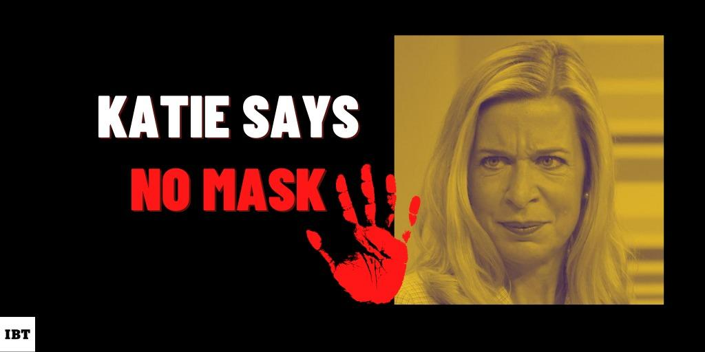 Katie Hopkins says no to masks