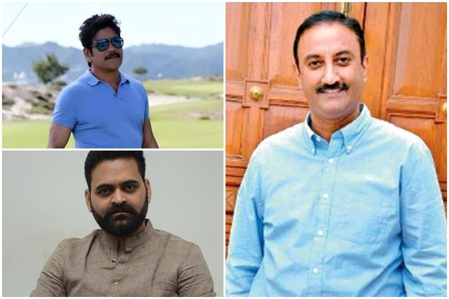 Akkineni Nagarjuna, Praveen Sattaru and Sharrath Marar