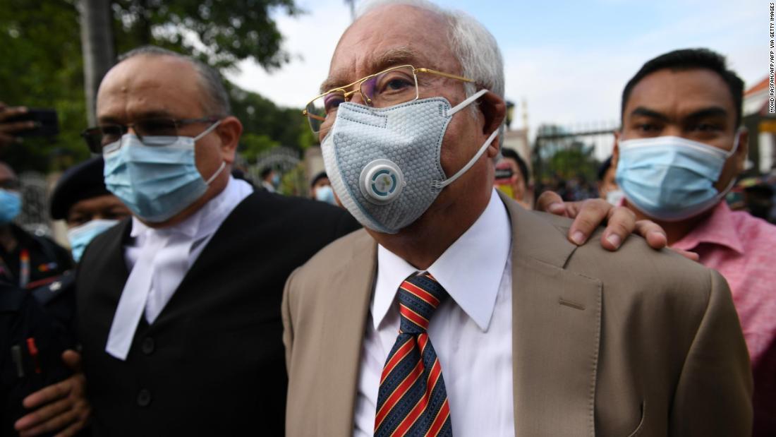 Pengadilan Najib: Mantan Perdana Menteri Malaysia bersalah atas tujuh dakwaan terkait skandal 1MDB