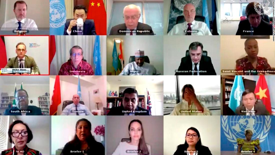 Bagaimana diplomat PBB bernegosiasi jarak jauh di usia Covid-19