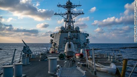 Angkatan Laut AS menggelar tantangan back-to-back untuk klaim Laut Cina Selatan Beijing