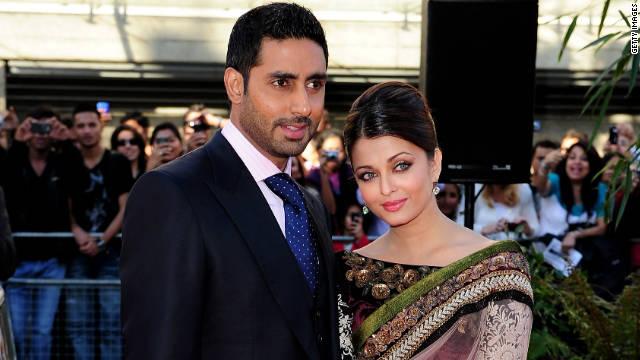 Abhishek Bachchan dan Aishwarya Rai di BFI Southbank pada 16 Juni 2010 di London, Inggris.