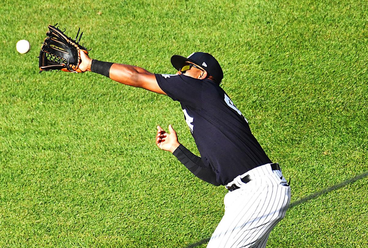 Apa yang dilakukan Yankees Miguel Andujar untuk meningkatkan pertahanannya