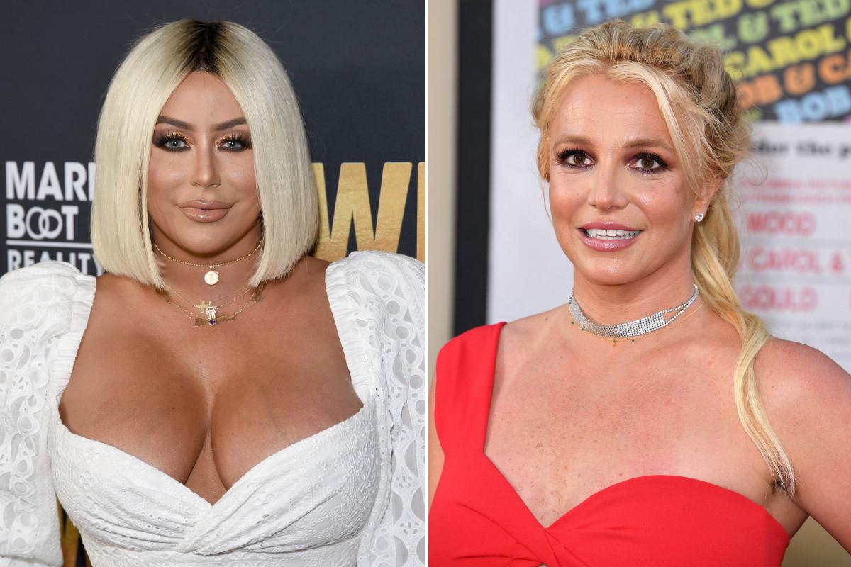 Aubrey O'Day mengatakan dia memiliki 'masa sulit percaya' Britney Spears ditahan