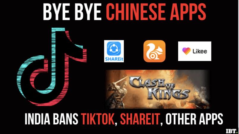 Aplikasi China dilarang di India
