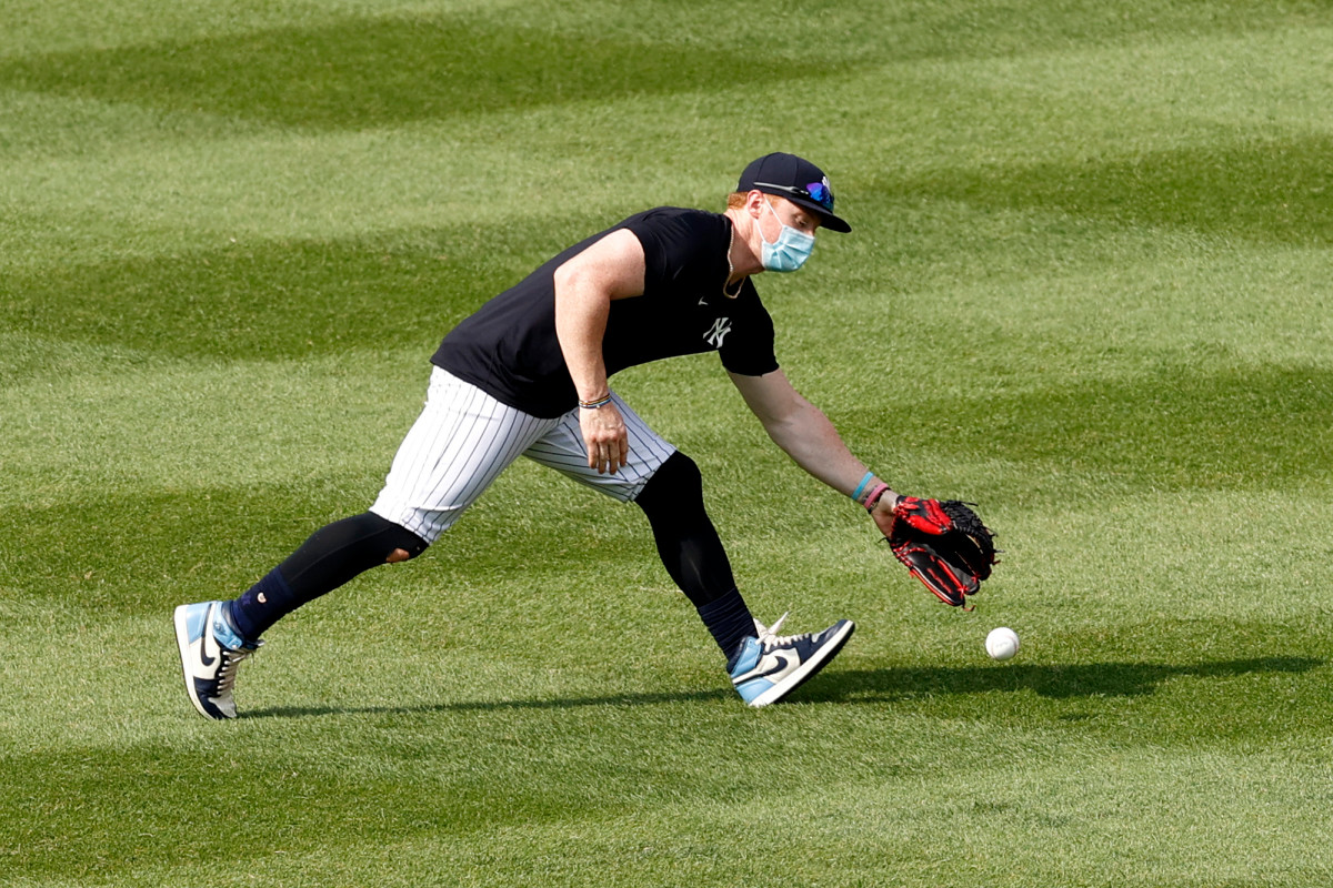 Clint Frazier dari Yankees tidak terpengaruh oleh kritik dari mengenakan topengnya
