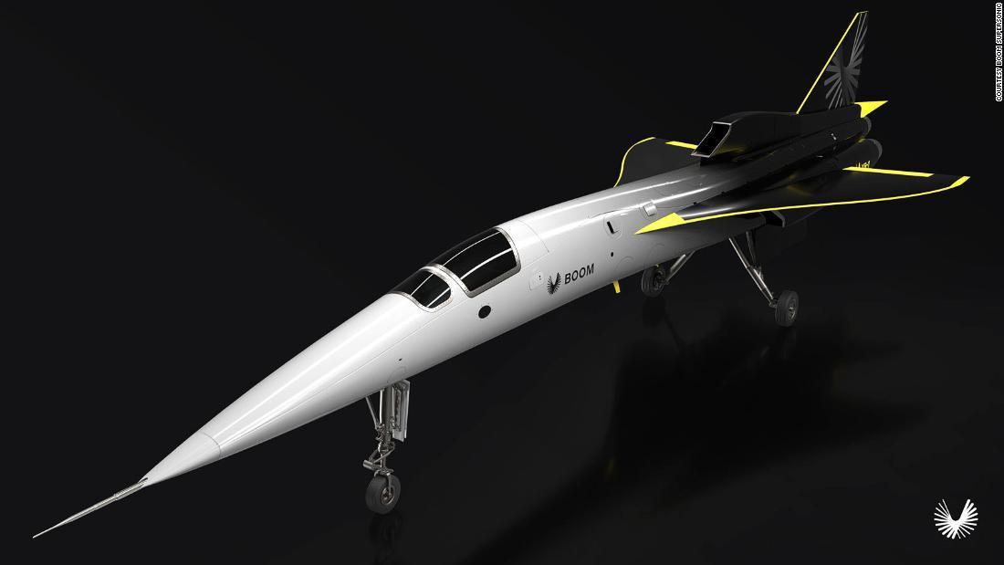 Boom jet supersonik untuk lepas landas 2021