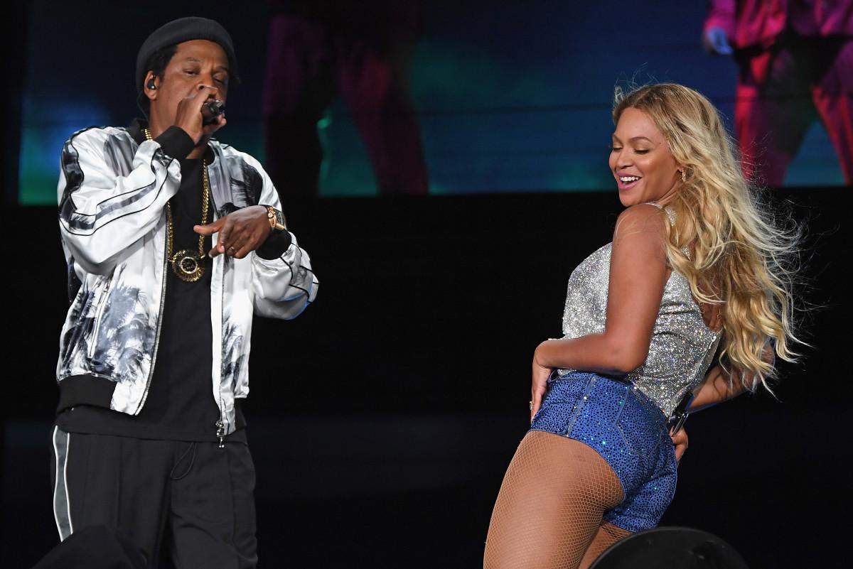 Jay-Z menendang sesama rapper dari video Beyoncé yang gerah