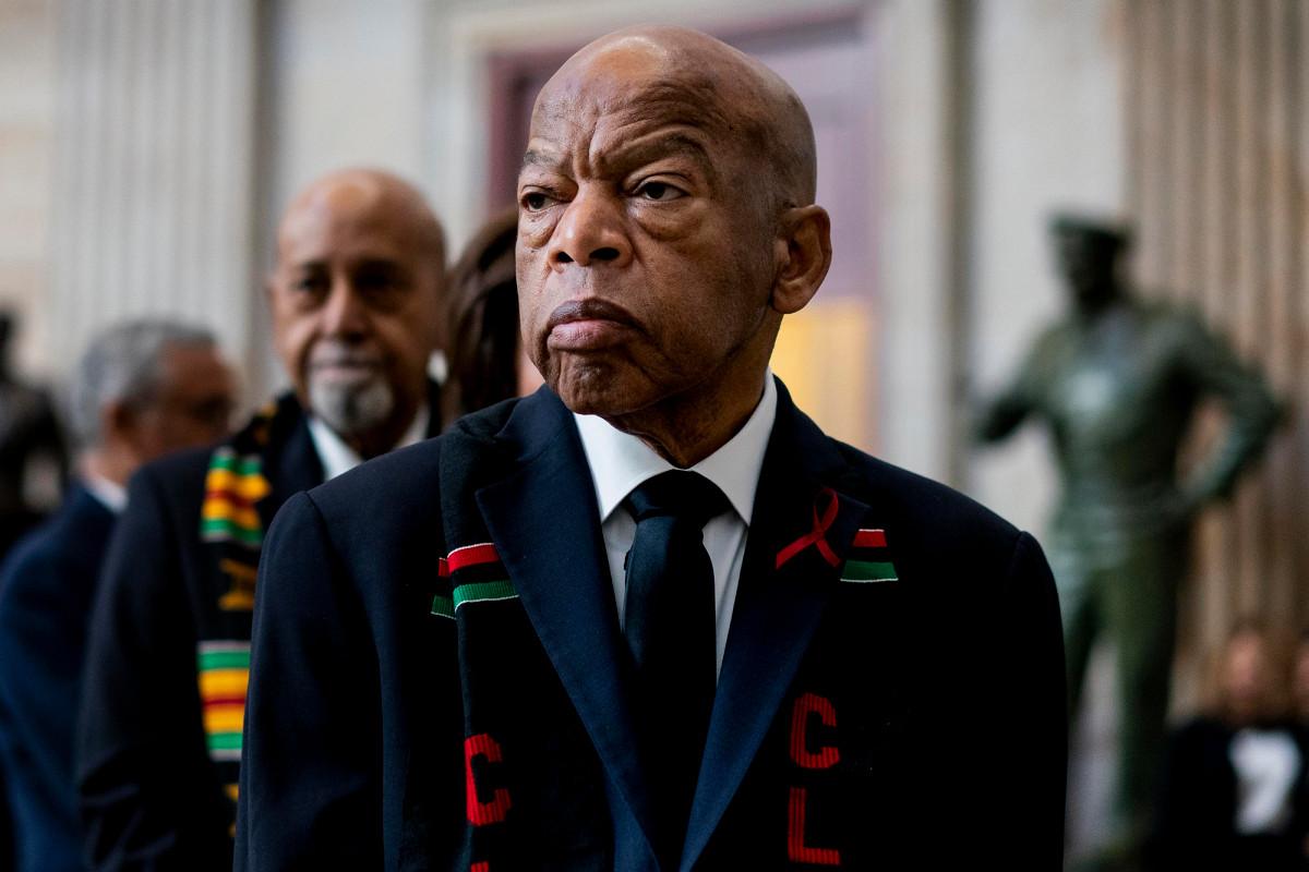 John Lewis akan dimakamkan setelah upacara pemakaman Atlanta