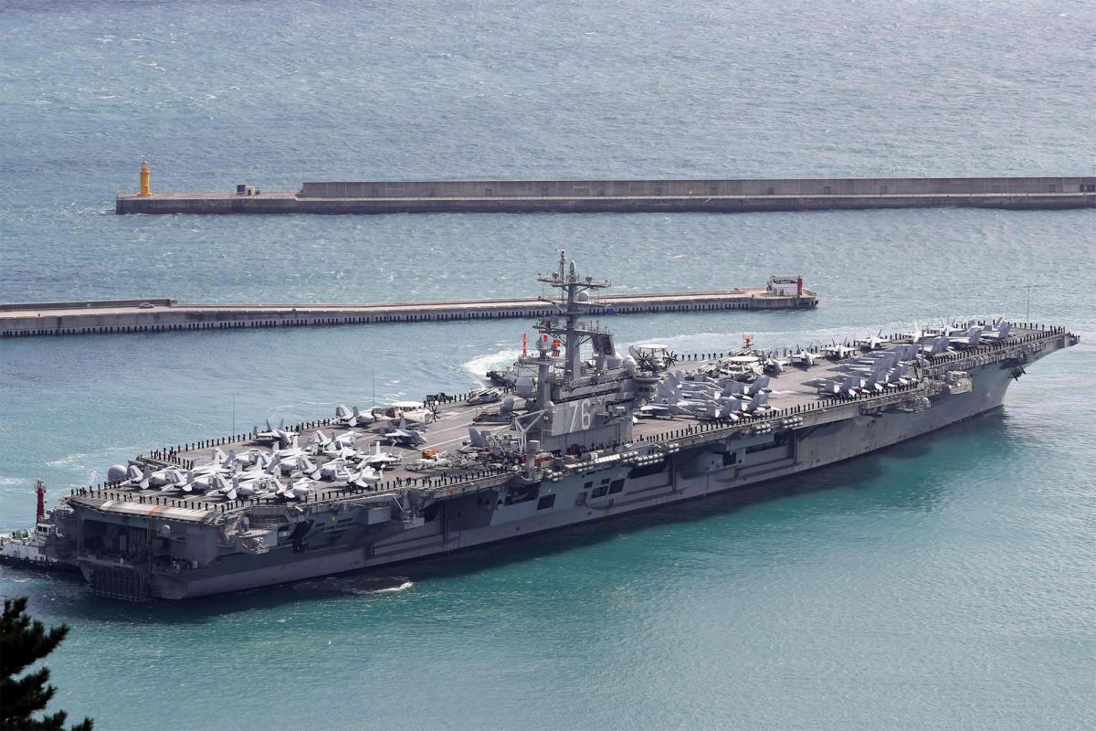 Kapal perang AS dikerahkan ke Laut Cina Selatan untuk latihan