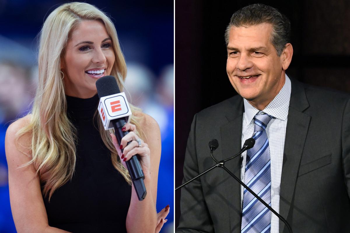 Laura Rutledge dari ESPN membayar upeti kepada Mike Golic yang 'legendaris'
