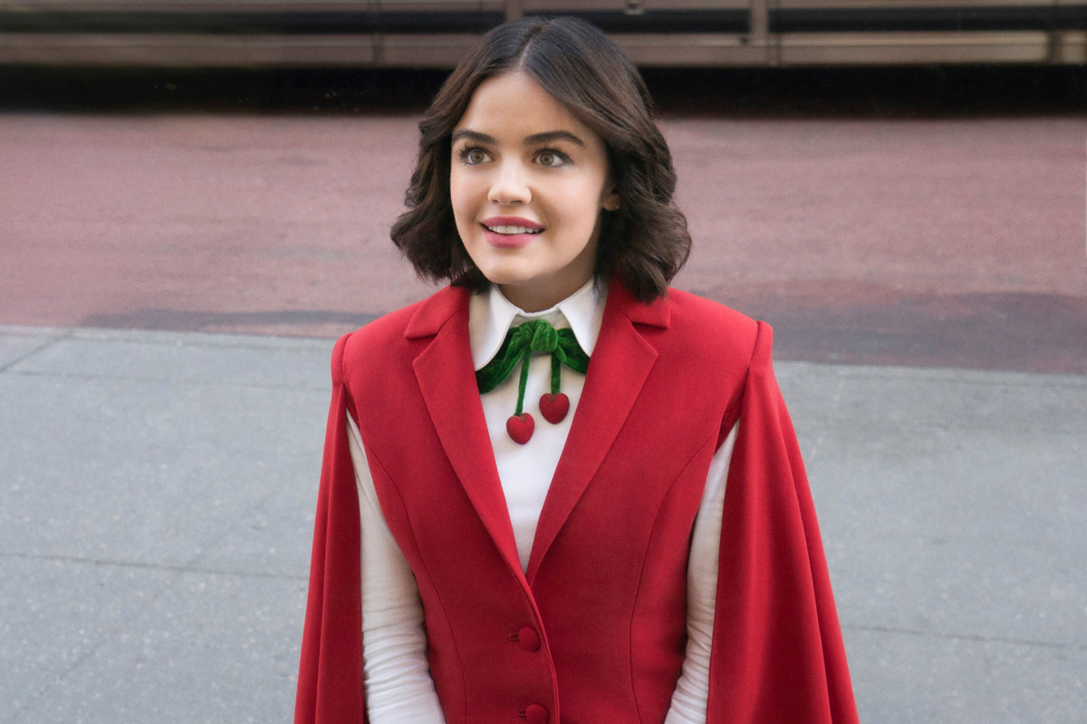 Lucy Hale rusak karena pembatalan 'Katy Keene'